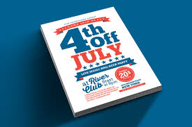 4th Of July Flyer Vsual