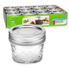 Ball : Admin - Palmer Wholesale, Your Wholesale Superstore! & Jars - 4 oz. Quilted Crystal Jelly Jars - Case of 12 Adamdwight.com