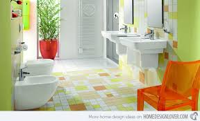 Small Picture Interior Design Bathroom Colors 15 Lively Multi Colored Bathroom