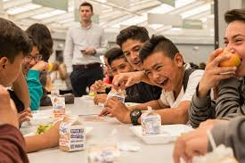 school lunch table. Drool-worthy Grilled Fish Tacos Put The San Ysidro School District On Farm-to-school Map. - Diego Union-Tribune Lunch Table