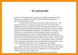 autobiography essay example food autobiography essay example  autobiography