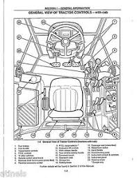 ford 5640 6640 7740 7840 8240 8340 service operators sh for