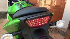 Led Lights For Ninja 250r How To Kawasaki Ninja 250r Led Tail Light Installation