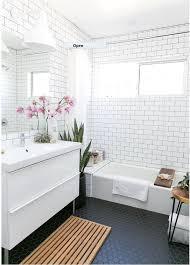 ... Lovely Black Tile Bathroom Floor and Black And White Floor Tile Bathroom  31 Retro Black White ...