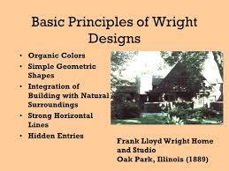 Frank Lloyd Wright Principles william fremd high school - ppt download