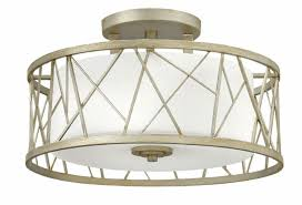 fredrick ramond fr41622slf nest silver leaf ceiling light fixture lighting