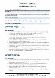 marketing analyst resume sample analyst resume marketing analyst
