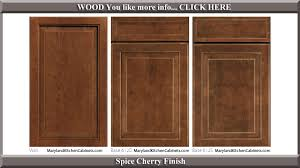 cabinet door design. 612 Spice Cherry Finish Cabinet Door Style Design L