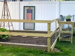 build a diy garden fence