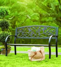 simple outdoor chair design. Here Is A Fantastic Metal Bench That Both Simple And Beautiful. The Iron Designs Outdoor Chair Design
