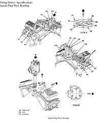 1989 chevy blazer 10 spark plug wires diagram graphic