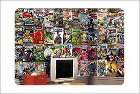marvel comic book chair rail prepasted wall mural on marvel comic book wall mural with marvel comic book chair rail prepasted wall mural for the home