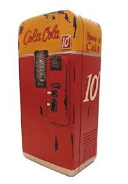 Vending Machine Bank Best Amazon Vintage Cola Vending Machine Coin Bank Home Kitchen