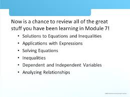 now is a chance to review all of the great stuff you have been learning in