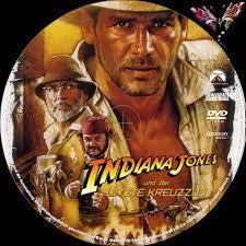 Indiana Jones 3 - und der letzte Kreuzzug dvd labels (1989) R2 German Custom