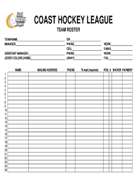baseball lineup creator hockey roster lineup template fill online printable