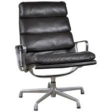 eames soft pad executive chair.  Pad Espresso Leather Eames Soft Pad Executive Lounge Chair By Herman Miller Intended E