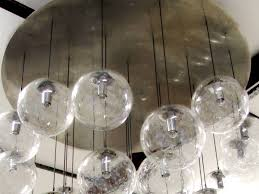 glass orb lighting. Image Of: Glass Orb Chandelier Lighting