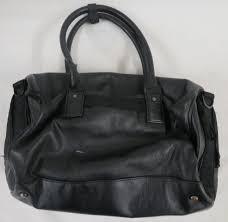 women s lululemon large black faux leather tote