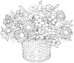 Flower Coloring Sheets Pdf Good Coloring Pages Flowers On Line