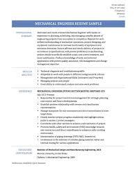 Sample Resume Objective For Mechanical Engineer Fresh Graduate Fresh