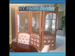 room divider from old doors
