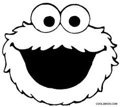 Cookie Monster Coloring Sheets Cookies Pages C Is For Throughout