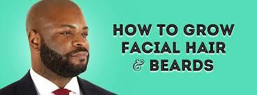 how to grow hair beards