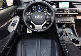 lexus rc f sport interior. Brilliant Lexus The RC F Was Developed At The Same Time As 350 Coupe But Is Lower  Wider And Longer Than Its 305 Hp 35litre Cousin It Shares Wheelbase  Throughout Lexus Rc Sport Interior
