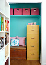 office closet. 1 organization space maybe all you really need is the to get your papers organized put a file cabinet and some pretty boxes into closet give office