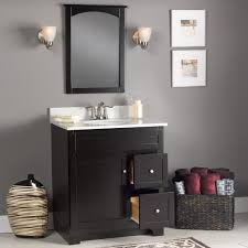 Bathroom : Bathroom Vanities 36 Inches White Bathroom Vanity With ...