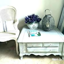 wicker trunk coffee table white large st