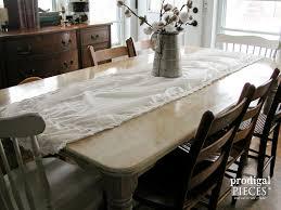 whitewash wood furniture. Corner View Whitewashed (Limewashed) Farmhouse Table By Prodigal Pieces | Www.prodigalpieces. Whitewash Wood Furniture R