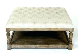 tufted ottoman coffee table large square tufted ottoman trendy interior or regarding big with regard to