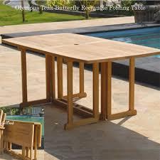 Teak Folding Dining Table