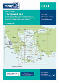 Bookharbour Chart Selector G121 The Inland Sea Imray Chart