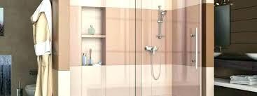 5 foot shower door doors ft home depot a surround sweep purchase gray vinyl t