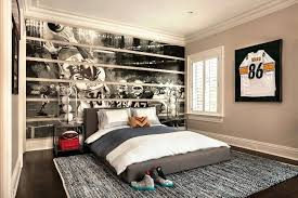 simple boys bedroom.  Simple Simple Boys Bedroom Interesting Football Wall Decal Decorating  Ideas With Grey Bed And   To Simple Boys Bedroom