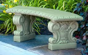 cement garden bench. Plain Cement Verona Curved Garden Bench Large For Cement C