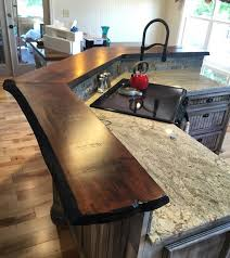 wood slab countertops incredible inspirational 68 with additional home bedroom regard to 3