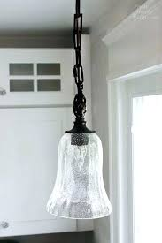 how to install pendant light fixture close up uttermost pendant replace fluorescent light fixture with pendant
