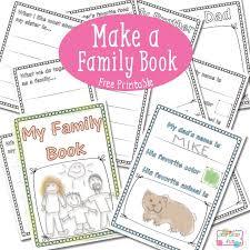 Family Book - Free Printable   Homeschool - Language Arts ...