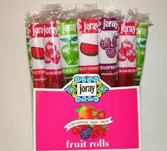 joray fruit rolls