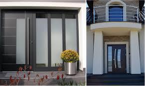 modern front doorsIn Stock Prehung Modern Steel and Wood Front Entry DoorsBest