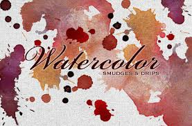 free watercolor brushes illustrator free watercolor smudges vectors textures and brushes