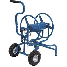 garden hose reel cart. Heavy-Duty Swiveling Hose Reel Cart Garden