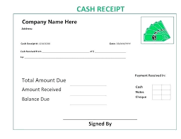 Bill Formats In Word Money Receipt Format Cash Template In Word Excel And Formats