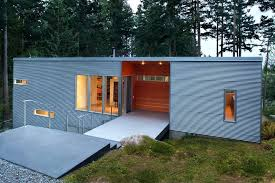 awesome corrugated metal siding corrugated metal siding exterior contemporary with gravel and concrete professionals corrugated metal