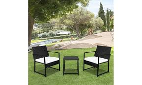 off on 3 pieces patio set outdoor wi