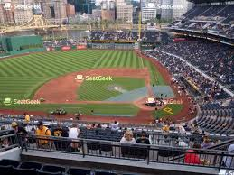 Pnc Park Seating Chart Detailed Pnc Park Section 316 Seat Views Seatgeek